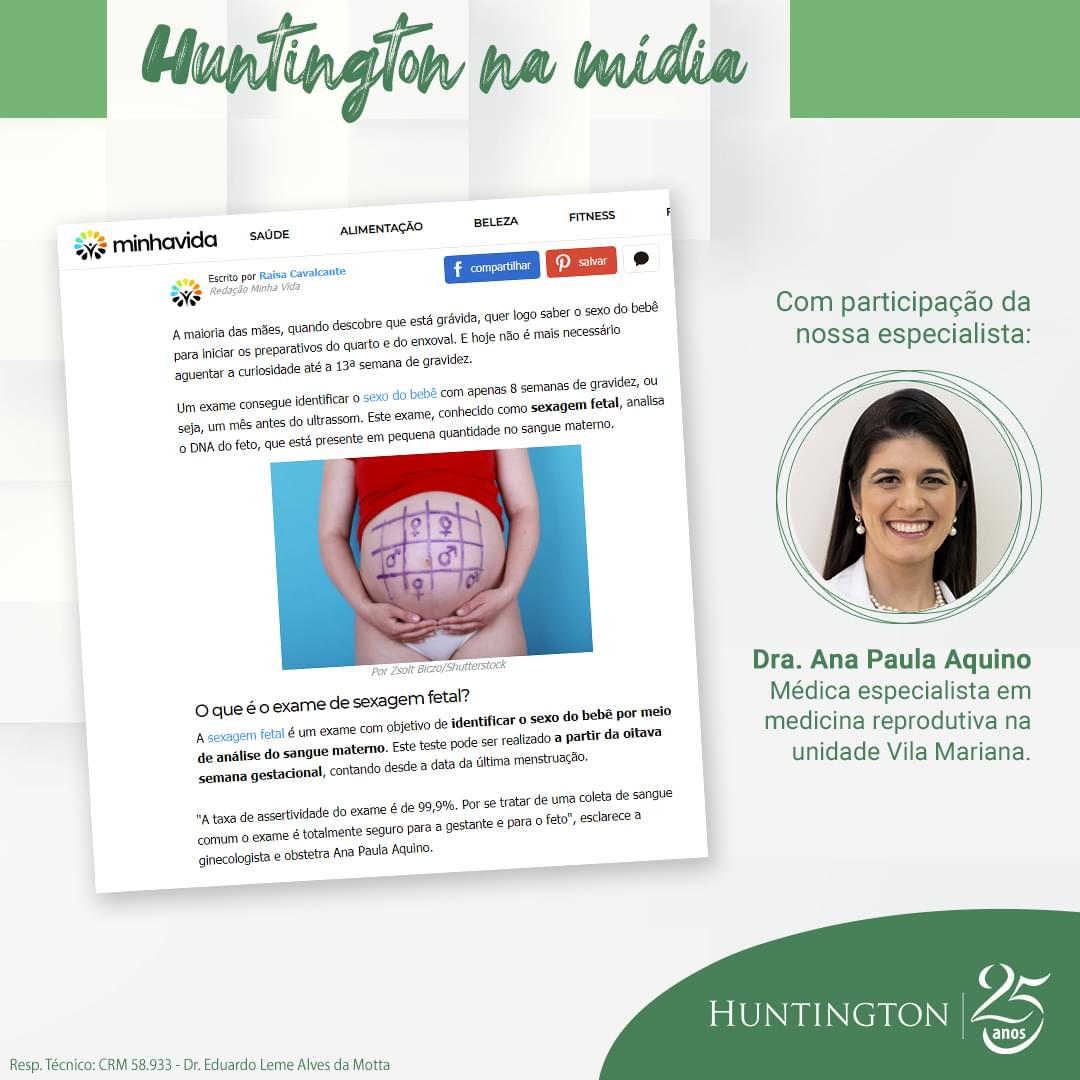 Huntington na Mídia_Ana Paula Aquino