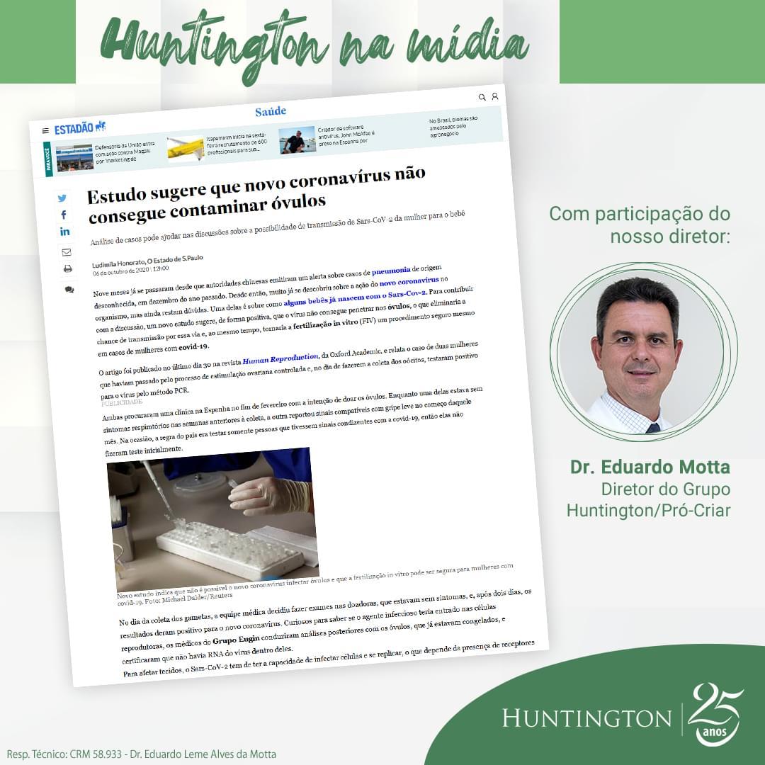 Huntington na Mídia_Eduardo Motta