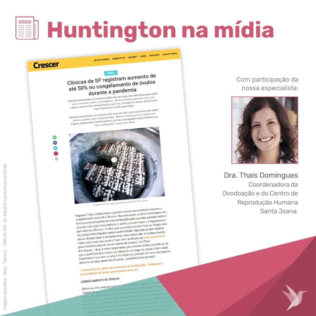 Huntington na Mídia_Thais