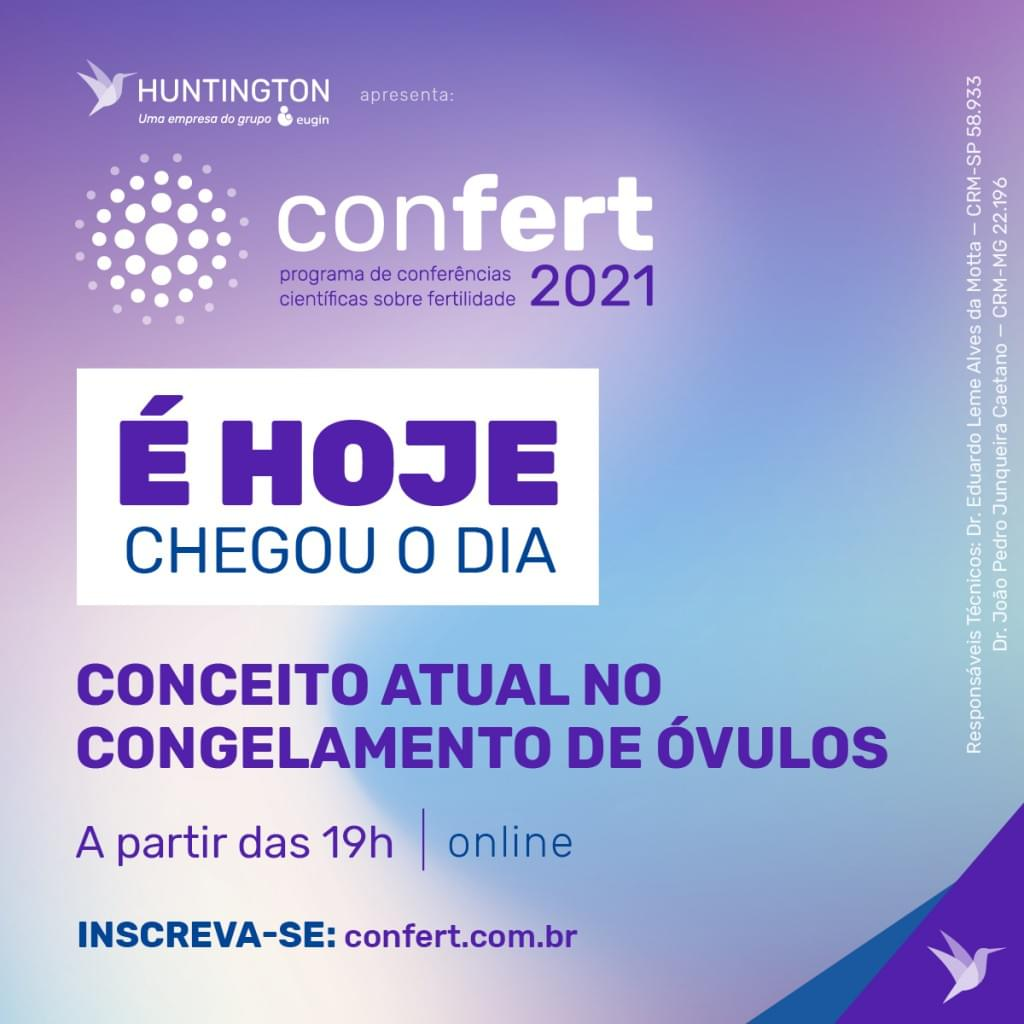 Post EHoje Confert2021 GHT Abr2021 Face Insta